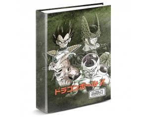 Dragon Ball Evil A4 Raccoglitore 4 Anelli Karactermania