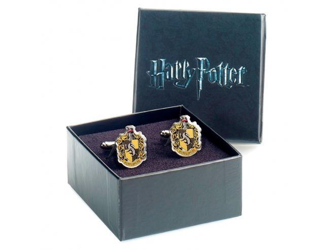 Harry Potter Tassorosso Crest Cufflinks The Carat Shop