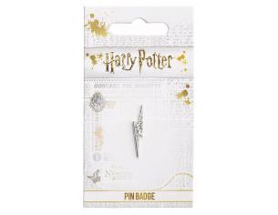 Harry Potter Spilla Distintivo Fulmine con Cristalli 2 x 1 cm The Carat Shop
