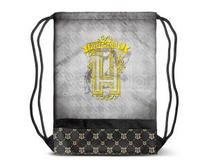 Harry Potter Tassorosso Borsa Palestra grigio 48cm Karactermania