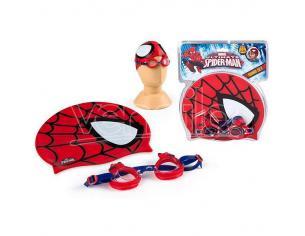 Set Cuffia E Occhialini Spiderman Marvel Ultimate Marvel