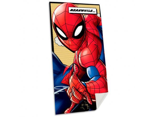 Marvel Spiderman Cotone Telo Mare Asciugamano  Bambino Licensing