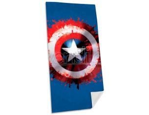 Marvel Captain America Cotone Telo Mare Asciugamano  Bambino Licensing