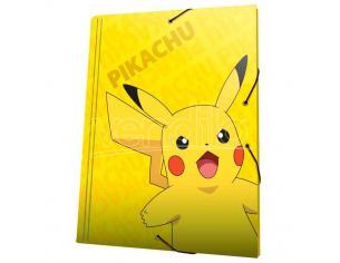 Pokemon Pikachu A4 Raccoglitore Con Flaps Cyp Brands
