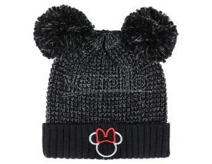 Disney Minnie Premium Cappello nero con pon pon Cerdà