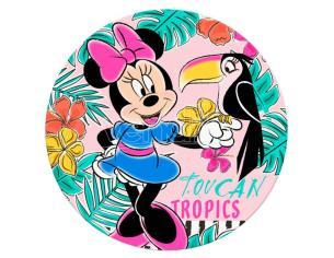 Disney Minnie Microfibra Round Telo Mare Asciugamano  Bambino Licensing