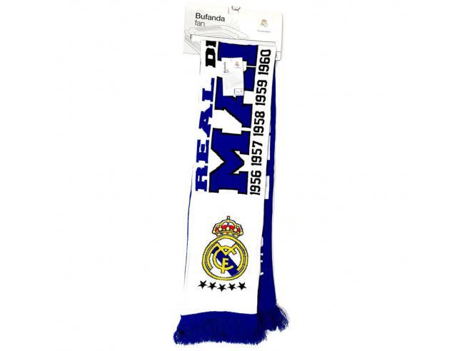 Real Madrid Desde 1902 Double Ventaglio Sciarpa Real Madrid