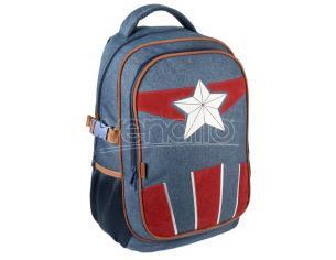 Marvel Avengers Captain America Da Viaggio Zaino 47cm Cerdà
