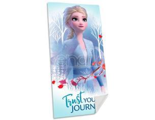 Disney Frozen 2 Elsa Cotone Telo Mare Asciugamano  Bambino Licensing