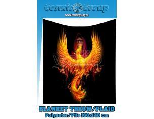 ANNE STOKES PHOENIX RISING BLANKET COPERTA NEMESIS NOW
