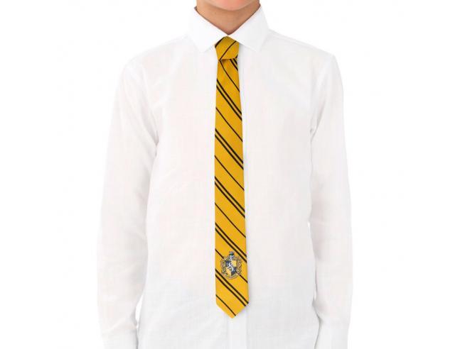 Harry Potter Tassorosso Intrecciata Logo Bambino Cravatta Cinereplicas