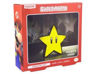 Super Mario Bros Nintendo Lampada Stella Super Star 16 cm Paladone