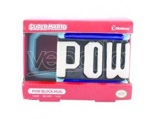 Nintendo Super Mario Pow 3d Tazza Paladone