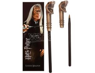 Harry Potter Lucius Malfoy Wand Pend E Segnalibro Noble Collection