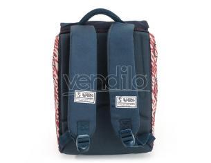 Spirit Usa Blue Zaino Con Flap 40cm Spirit
