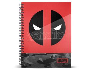 Marvel Deadpool A4 Agenda Karactermania