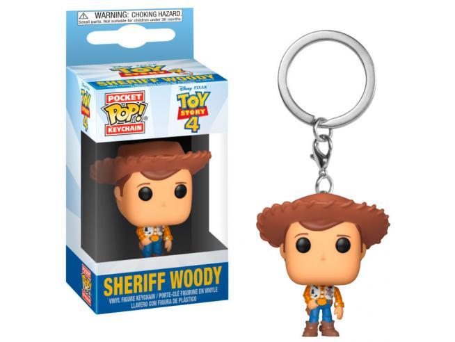 Pocket Pop Portachiavi Disney Toy Story 4 Woody Funko