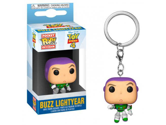Pocket Pop Portachiavi Disney Toy Story 4 Buzz Lightyear Funko