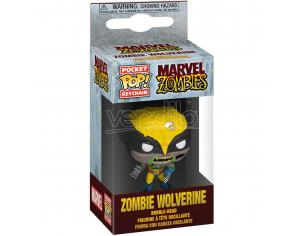 Pocket Pop Portachiavi Marvel Zombies Wolverine Funko