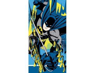 Dc Batman Logo Cotone Telo Mare Asciugamano Bambino Licensing