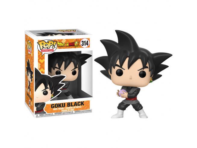 Dragon Ball Funko POP Animazione Vinile Figura Super Goku Nero 9 cm