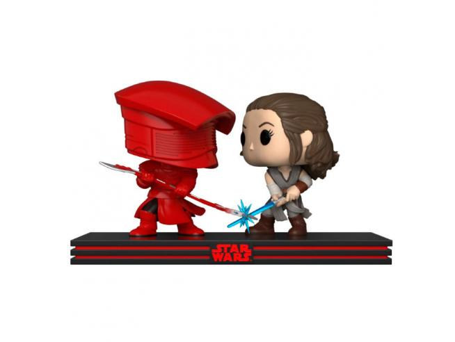 POP pack 2 figures Star Wars Rey & Praetorian Guard Funko