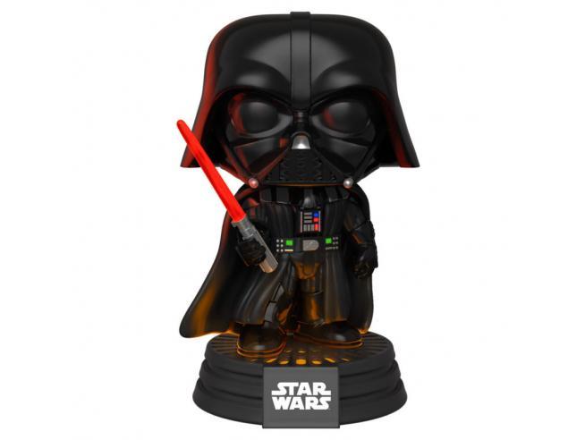 Star Wars Funko POP Vinile Figura Darth Vader Luci Elettroniche E Suono 9 cm