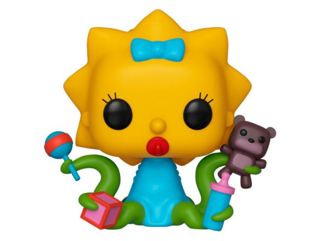 The Simpsons Funko POP TV Vinile Figura Maggie Aliena 9 cm