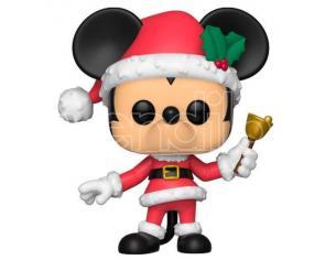 Disney Natale Funko POP Vinile Figura Topolino Vestito da Babbo Natale 9cm