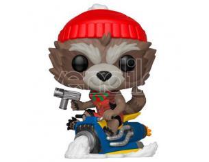 Pop Figura Marvel Holiday Rocket Funko