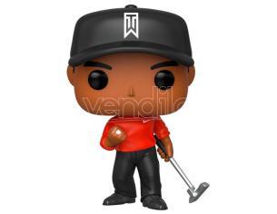 Tiger Woods Funko POP Golf Vinile Figura Tiger Woods con Maglia Rossa 9 cm