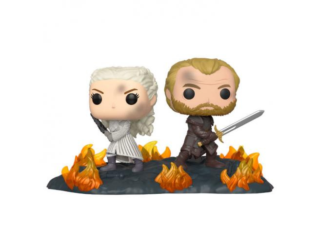 Pop Figura Game Of Thrones Daenerys & Jorah B2b Con Swords Funko