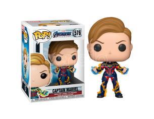 Marvel Avengers Endgame Funko Pop Videogiochi Vinile Figura Captain Marvel 9 cm