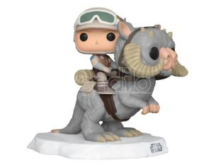 Star Wars Funko Pop Film Vinile Figura Luke sul Taun Taun 9 cm