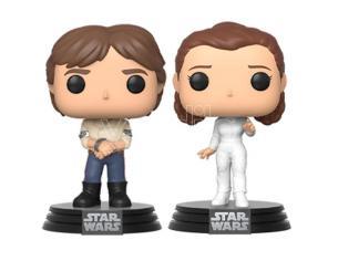 POP pack 2 figures Star Wars Han & Leia Funko