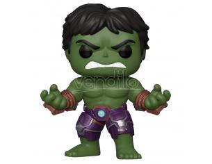Marvel Avengers Funko Pop Game Vinile Figura Hulk Stark con Tuta Tecnica 9 cm