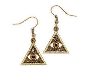 Animali Fantasticis Triangle Eye Orecchini The Carat Shop