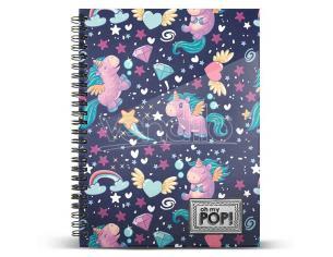 Oh My Pop Magic A4 Agenda Karactermania