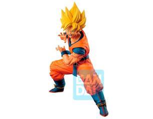 Dragon Ball Super Our Goku No.1 Super Saiyan Son Goku Ichibansho Figura 18cm Banpresto
