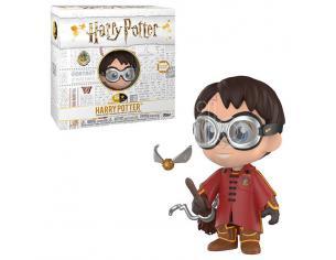 Harry Potter Funko Vinile 5 Star Vinile Figura Harry Quidditch 8 cm Esclusiva