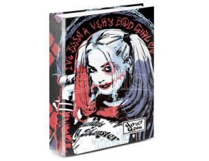 Dc Comics Harley Quinn A4 Raccoglitore 4 Anelli Karactermania