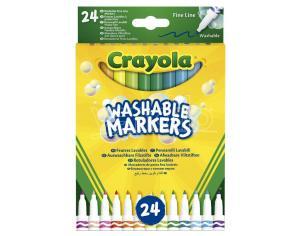 Crayola Set 24 Washable Fine Line Markers Crayola