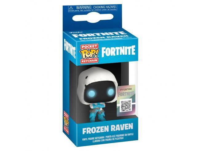 Pocket Pop Portachiavi Fortnite Frozen Raven Funko