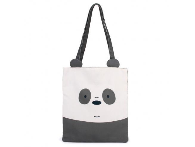 We Bare Bears Panda Bear Borsa Per Shopping Karactermania