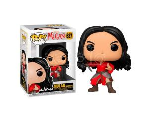 Mulan Disney Funko POP Animazione Vinile Figura Mulan Guerriera 9cm