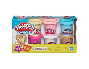 Set con 6 Barattoli Pongo Play-Doh