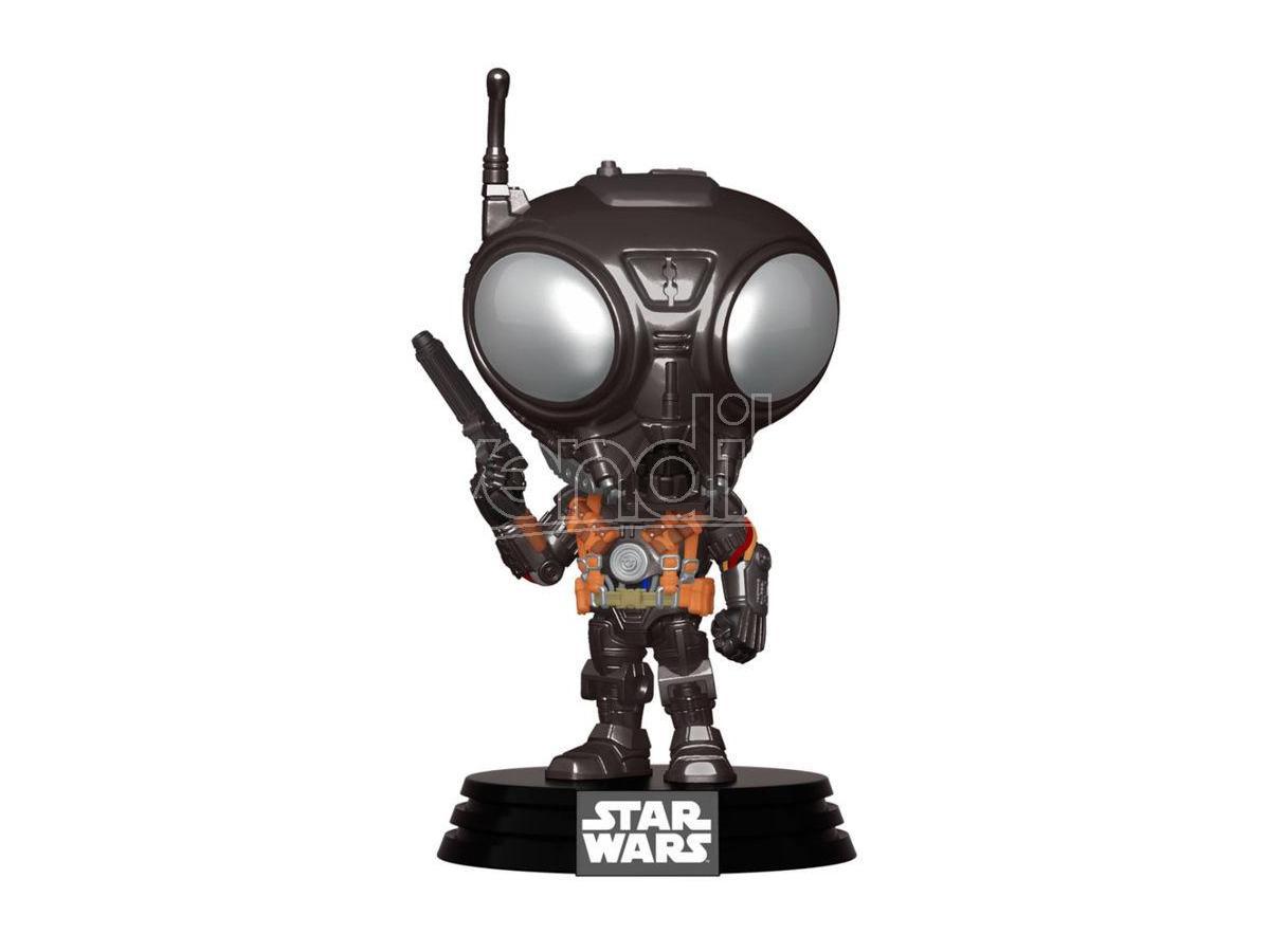 Pop Figura Star Wars Mandalorian Q9-zero Funko