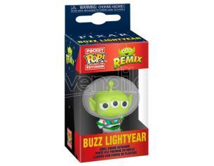 Pocket Pop Portachiavi Disney Pixar Alien Remix Buzz Funko