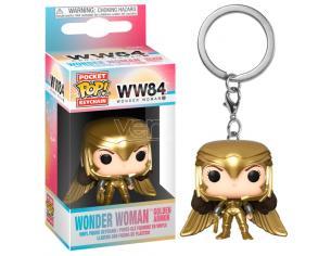 Dc Wonder Woman 1984 Pocket Pop Portachiavi Wonder Woman Armatura Oro