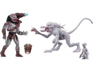 Alien & Predator Set 2 Statua Alien E Predator Classic Figura Scatola da 8 14 Cm Neca